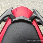 TVS Apache RTR 200 4V pillion grab handles review