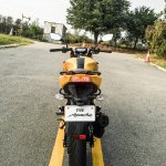 TVS Apache RTR 200 4V rear review