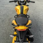 TVS Apache RTR 200 4V rear top review