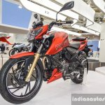 TVS Apache RTR 200 4V red at Auto Expo 2016