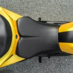 TVS Apache RTR 200 4V rider seat review