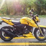 TVS Apache RTR 200 4V side review