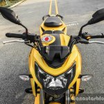 TVS Apache RTR 200 4V yellow review