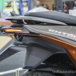 TVS ENTORQ 210 LED tail lamp at Auto Expo 2016