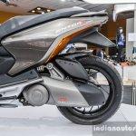 TVS ENTORQ 210 engine transmission at Auto Expo 2016