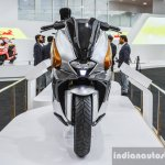 TVS ENTORQ 210 front at Auto Expo 2016