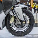TVS ENTORQ 210 front disc brake ABS at Auto Expo 2016