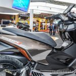 TVS ENTORQ 210 panels at Auto Expo 2016