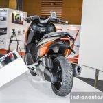 TVS ENTORQ 210 rear at Auto Expo 2016