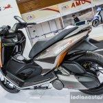 TVS ENTORQ 210 rear quarter at Auto Expo 2016