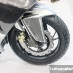 TVS ENTORQ210 Scooter Concept disc brake ABS at Auto Expo 2016