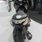 TVS ENTORQ210 Scooter Concept rear at Auto Expo 2016