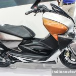 TVS ENTORQ210 Scooter Concept seat at Auto Expo 2016