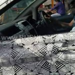 Tata Hexa camouflaged interior spied near ARAI Pune