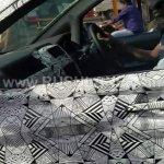 Tata Hexa camouflaged interior spied near ARAI Pune