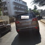 Tata Hexa rear close spotted sans camouflage