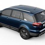 Tata Hexa rear quarter press shots Auto Expo 2016