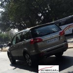 Tata Hexa rear quarter spotted sans camouflage