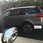 Tata Hexa side spotted sans camouflage