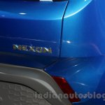 Tata Nexon badge at Auto Expo 2016