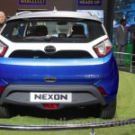 Tata Nexon rear end at Auto Expo 2016