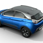 Tata Nexon rear quarter press shots Auto Expo 2016