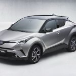 Toyota C-HR front three quarters leaked image