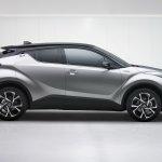 Toyota C-HR side profile leaked image