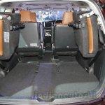 Toyota Innova Crysta 2.8 Z boot volume at the Auto Expo 2016