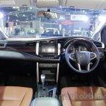Toyota Innova Crysta 2.8 Z dashboard at the Auto Expo 2016