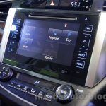 Toyota Innova Crysta 2.8 Z infotainment display at the Auto Expo 2016