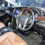 Toyota Innova Crysta 2.8 Z interior at the Auto Expo 2016