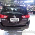 Toyota Innova Crysta 2.8 Z rear at the Auto Expo 2016