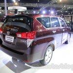 Toyota Innova Crysta 2.8 Z rear quarter at the Auto Expo 2016