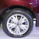 Toyota Innova Crysta 2.8 Z rim at the Auto Expo 2016