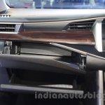 Toyota Innova Crysta 2.8 Z storage at the Auto Expo 2016