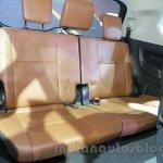Toyota Innova Crysta 2.8 Z third row seat at the Auto Expo 2016