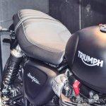 Triumph Bonneville Street Twin Matt Black at Auto Expo 2016