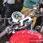Triumph Bonneville Street Twin Red handlebar at Auto Expo 2016