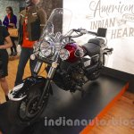 UM Renegade Classic front three quarters at Auto Expo 2016