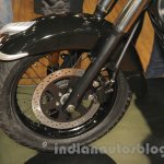 UM Renegade Classic front wheel at Auto Expo 2016