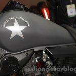 UM Renegade Commando fuel tank at Auto Expo 2016