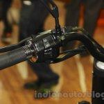 UM Renegade Commando handlebar left at Auto Expo 2016