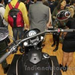 UM Renegade Sport S handlebar at Auto Expo 2016