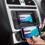 VW Ameo MirrorLink press shots