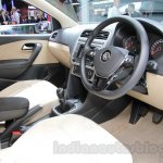 VW Ameo cockpit at Auto Expo 2016