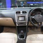 VW Ameo dashboard at Auto Expo 2016
