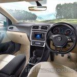 VW Ameo interior press shots