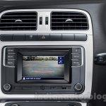 VW Ameo rear camera press shots