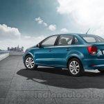 VW Ameo rear quarter press shots